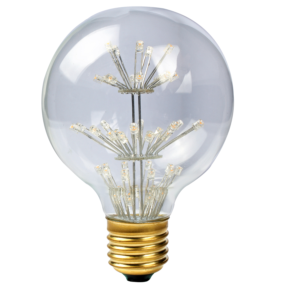 E27 3w Screw Vintage Retro Edison Led Filament Decorative Light Lamp Xmas Bulb Ebay