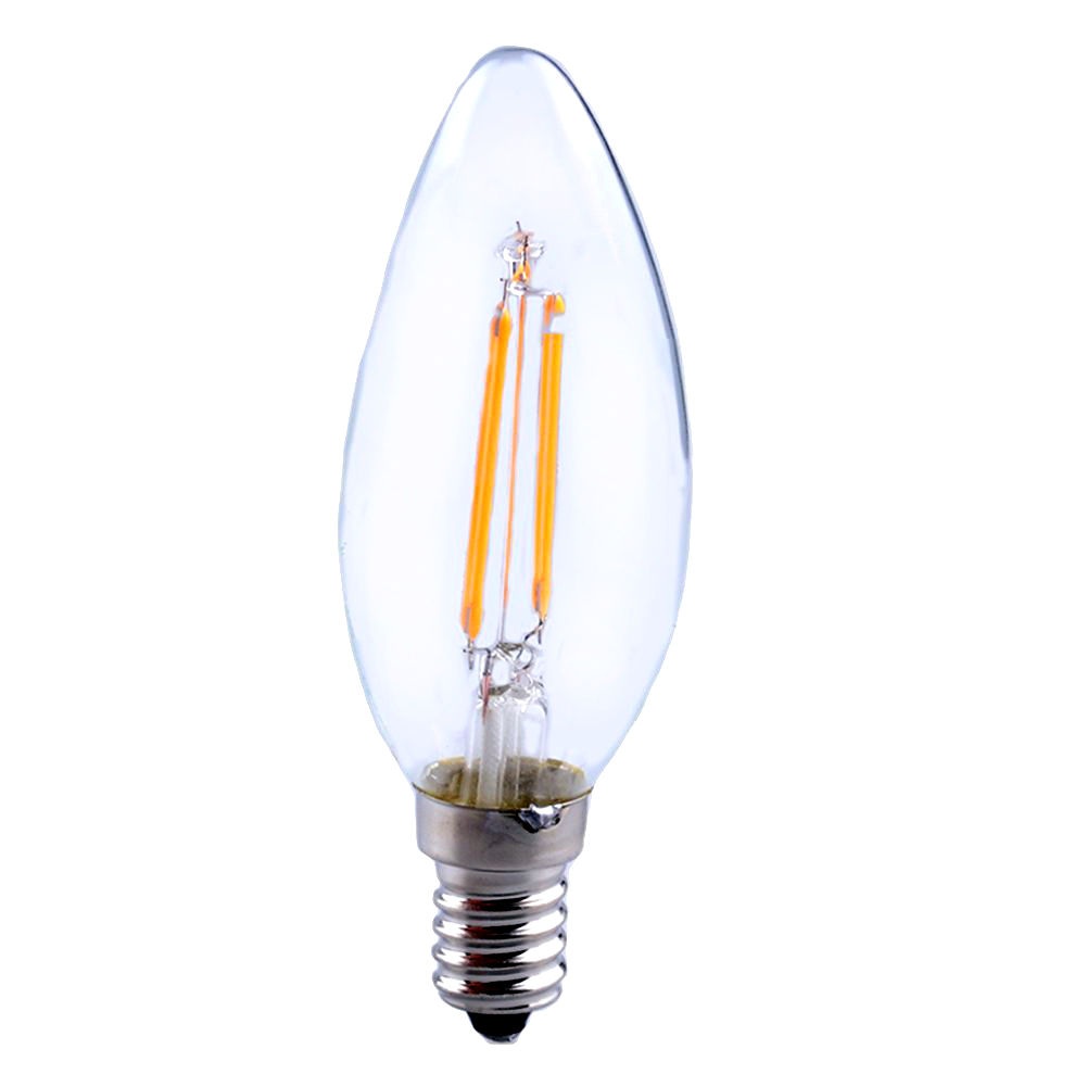 edison retro filament cob led candle chandelier light lamp bulb ebay. Black Bedroom Furniture Sets. Home Design Ideas