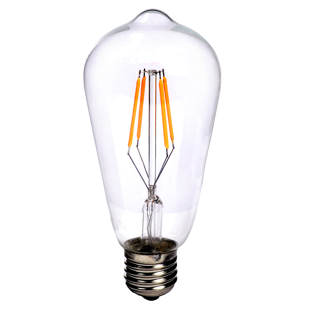 E27 e14 vintage retro edison cob led filament light lamp xmas bulb 2w 3w 4w 6w ebay Light bulb lamps