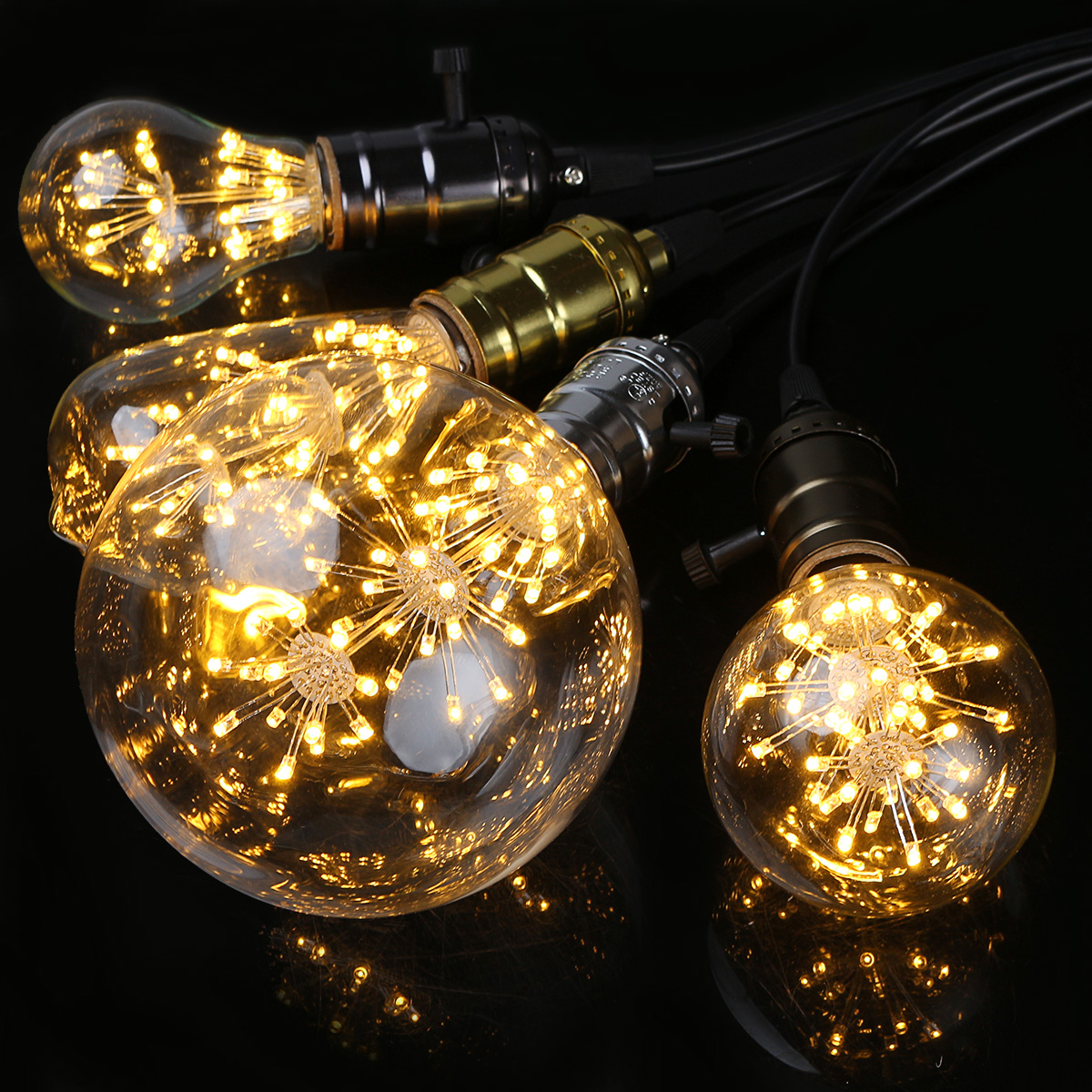 e27 3w vintage retro style edison led filament decorative light lamp bulb 220v ebay. Black Bedroom Furniture Sets. Home Design Ideas