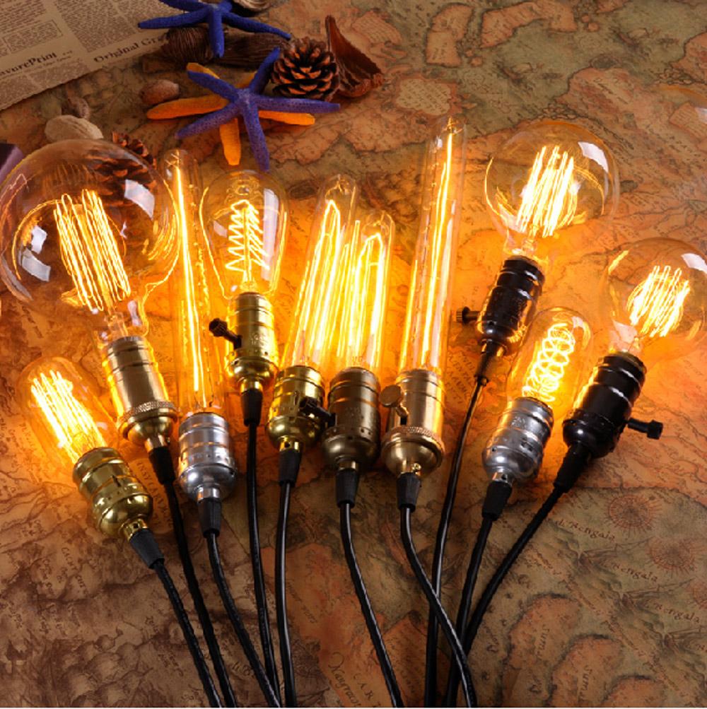 e27 retro lampenfassung deckenfassung sockel fassung socket lampe halter kupfer ebay. Black Bedroom Furniture Sets. Home Design Ideas