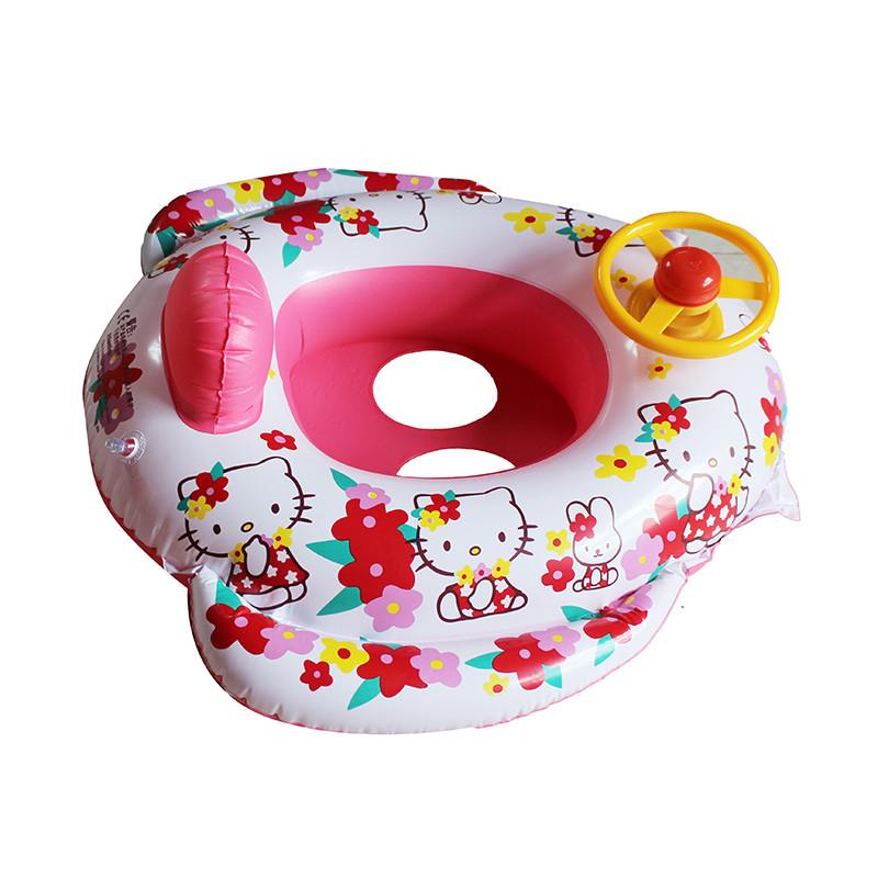 baby aufblasbar babyboot schwimmsitz schwimmhilfe kinder schwimmring 4 motive ebay. Black Bedroom Furniture Sets. Home Design Ideas