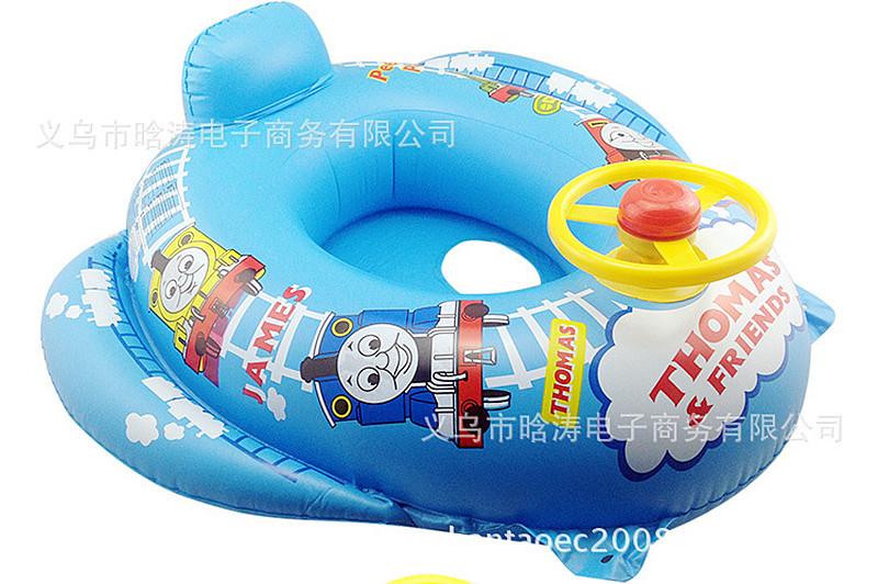 Sunshade Baby Kids Float Seat Boat Inflatable Swim Swimming Ring Pool Water Fun Ebay