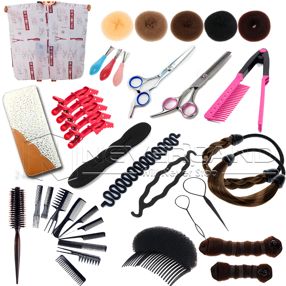 22pcs New Style Hairdressing Tools Salon Scissors Training