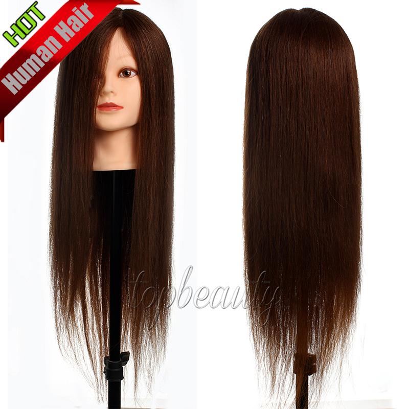 All 100% Real Human Hair Training Head Mannequin Head ...
