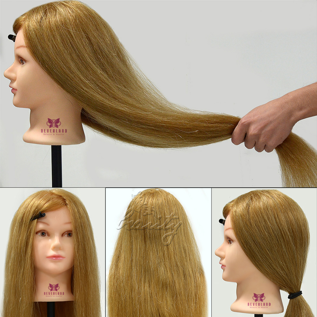 2017 Training Head 100 Real Human Hair 26 Quot Cosmetology