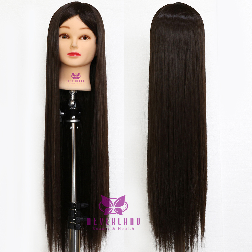 30 Quot 100 Synthetic Cosmetology Hair Training Head
