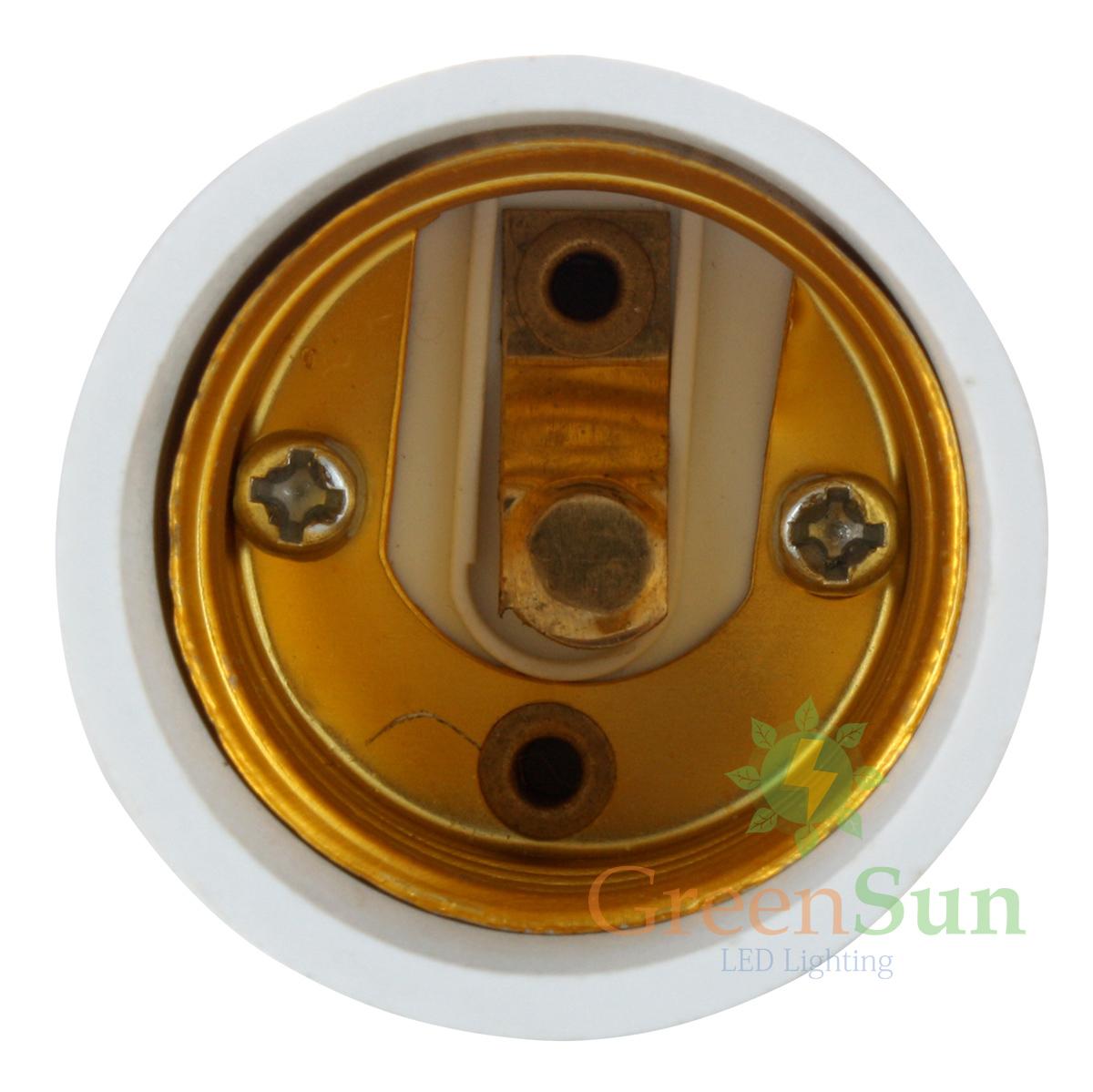 adaptateur douille e27 mr16 gu10 e14 led ampoule lampe. Black Bedroom Furniture Sets. Home Design Ideas