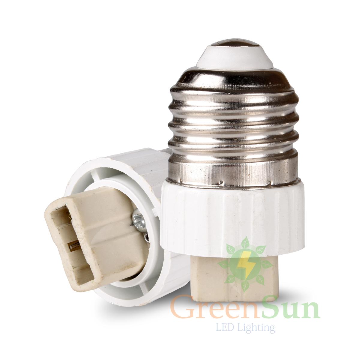 adaptateur douille e27 mr16 gu10 e14 led ampoule lampe culot eclairage ebay. Black Bedroom Furniture Sets. Home Design Ideas