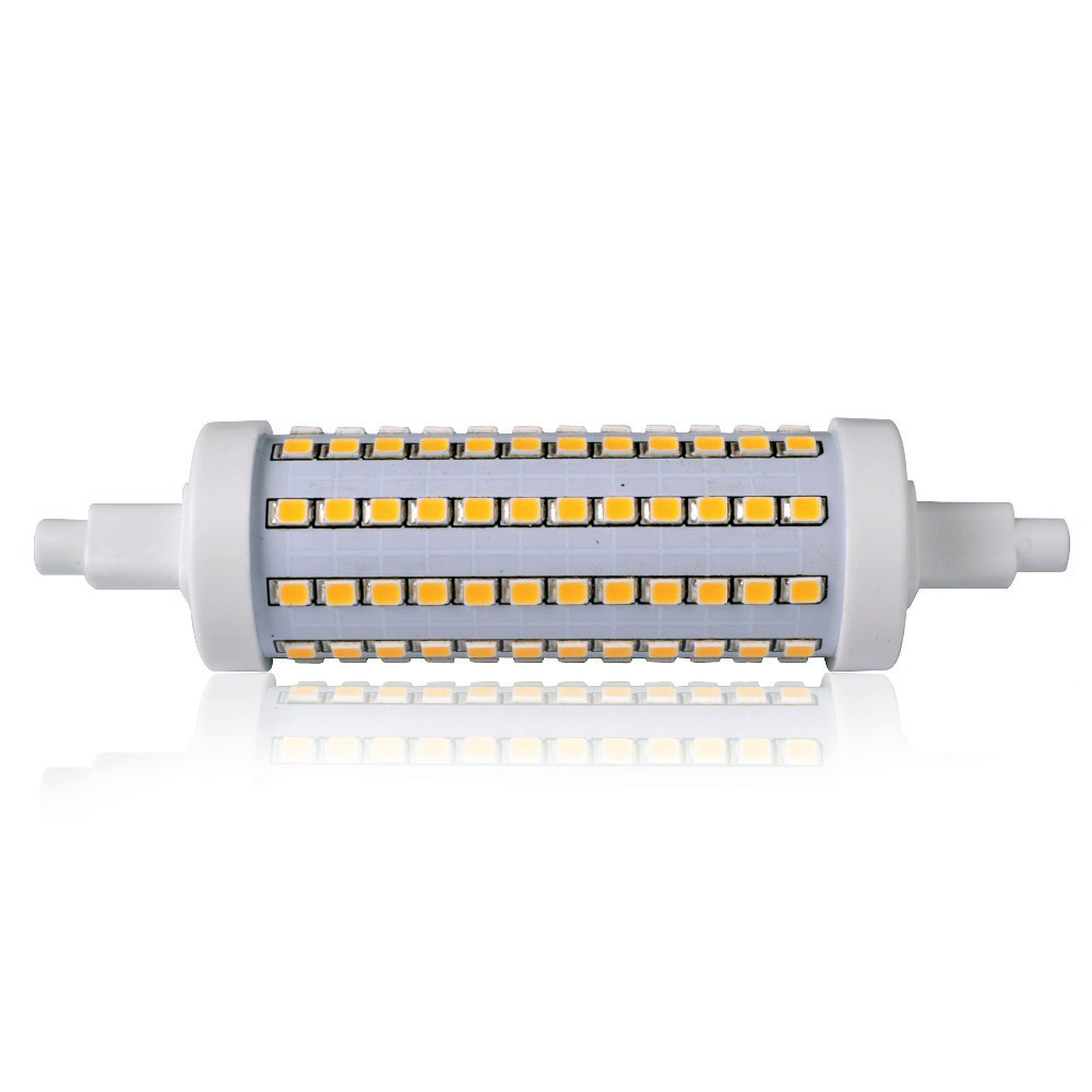 10W R7S 118mm 96 3528SMD LED 360? Lampada Lineare ...