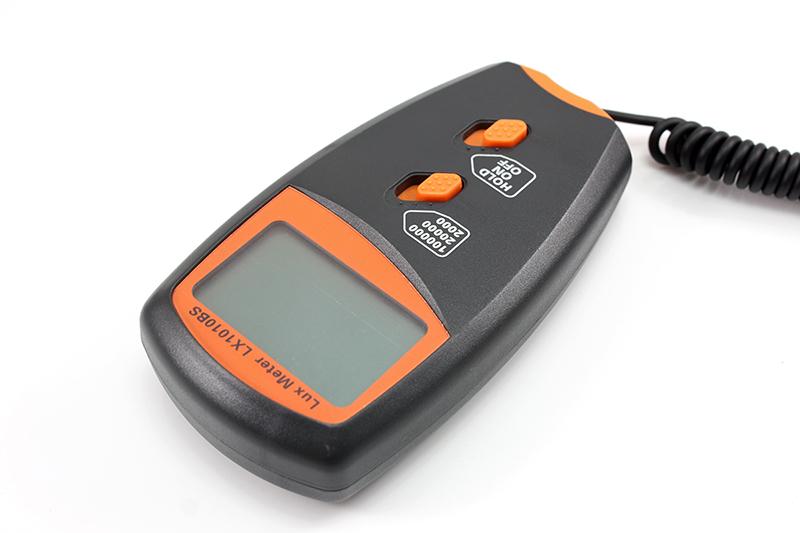 Light Intensity Meter : New digital light meter handheld lux meters