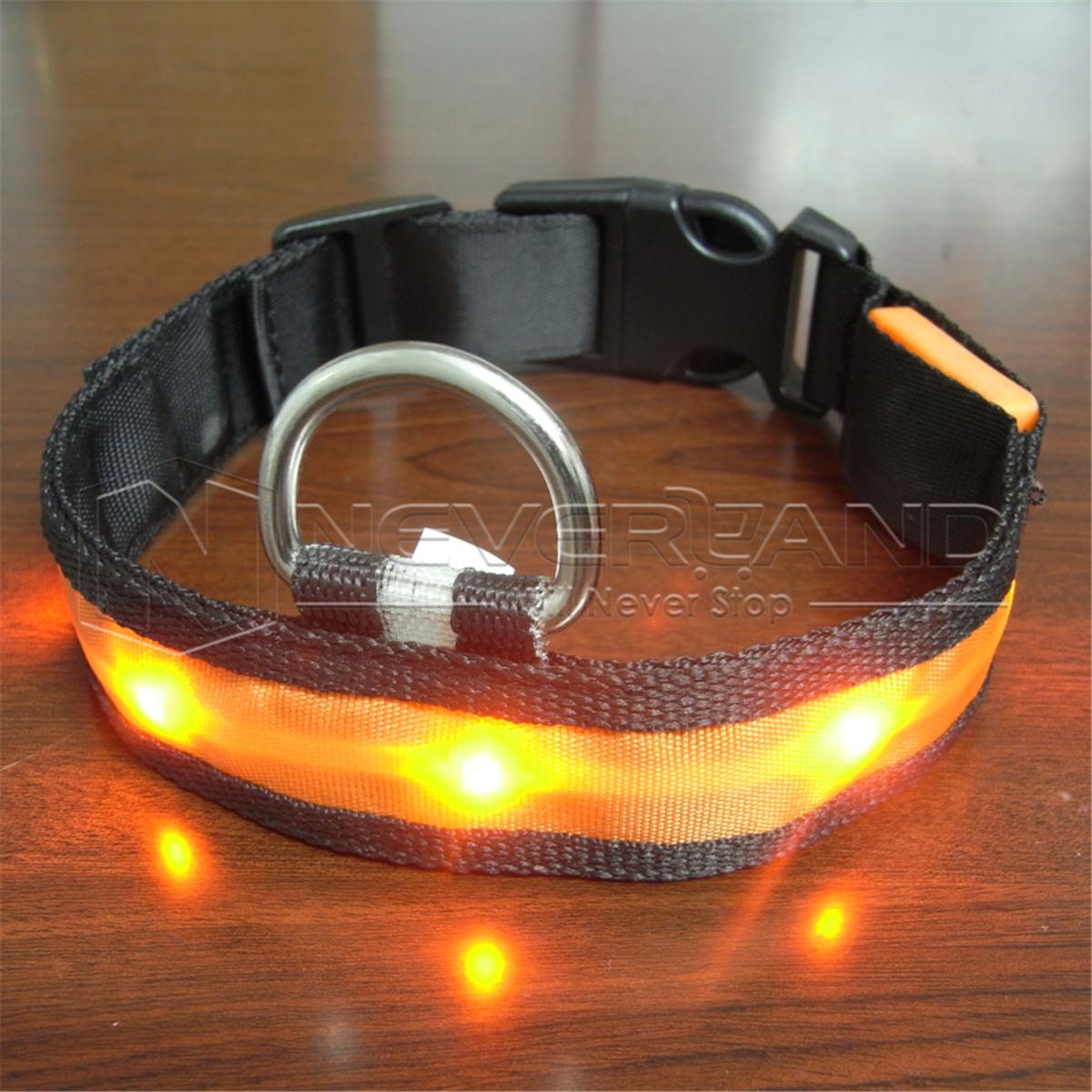 New Adjustable Led Light Flashing Glow Luminous Pet Dog