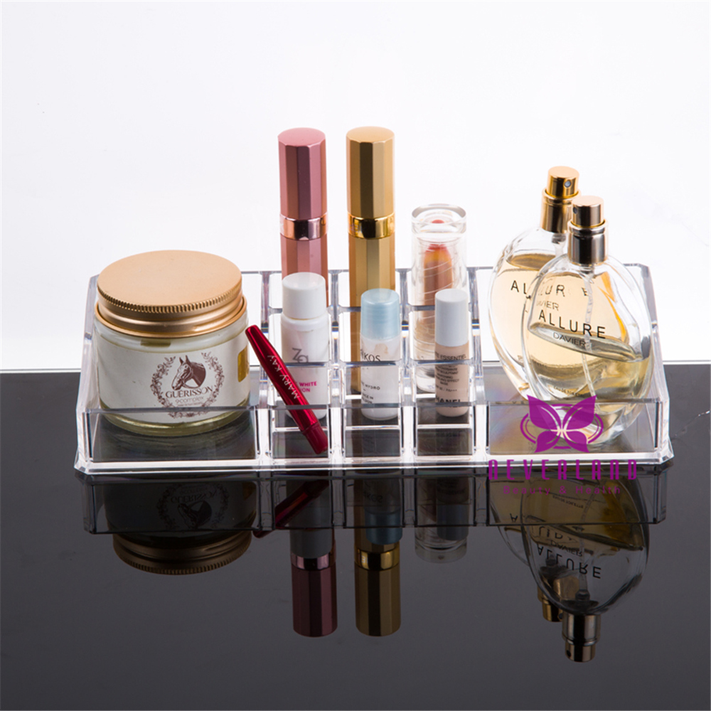 Acrylic Clear Makeup Jewellery Box Cosmetic Organiser