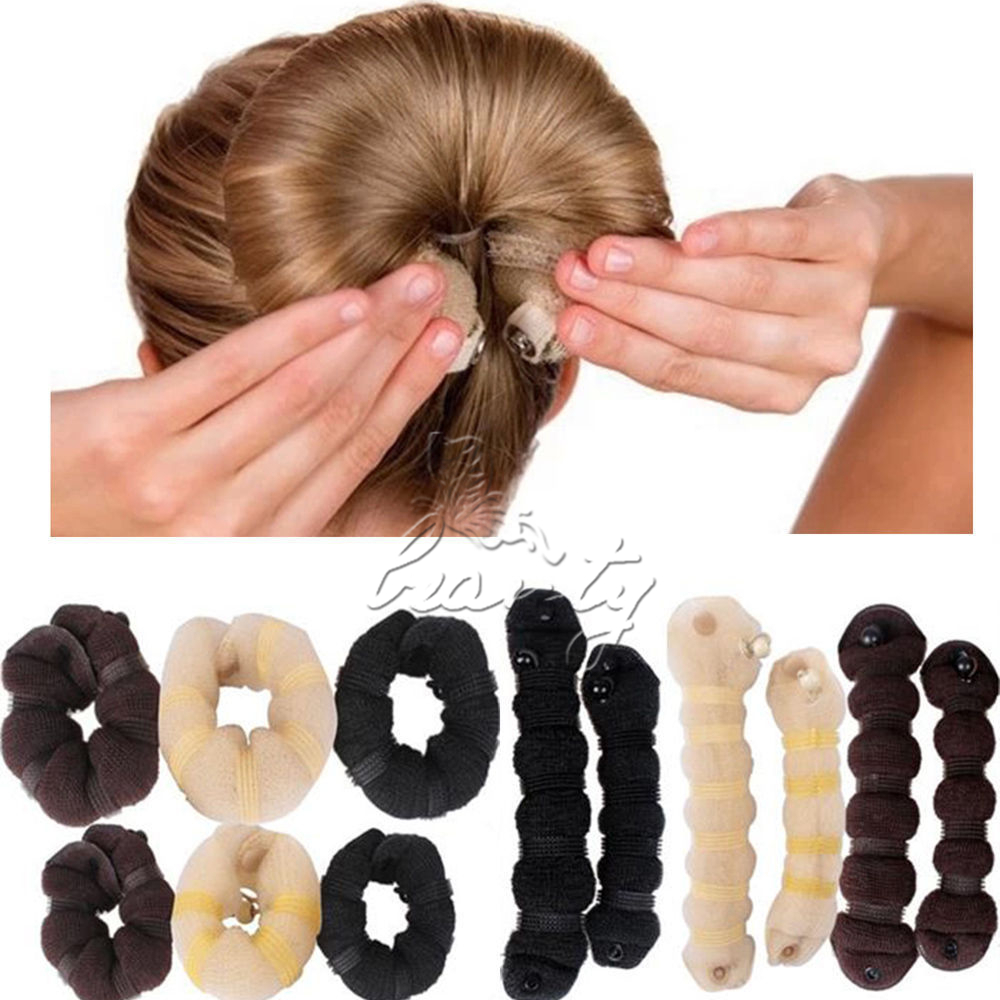 твистеры для причесок из длинных волос
