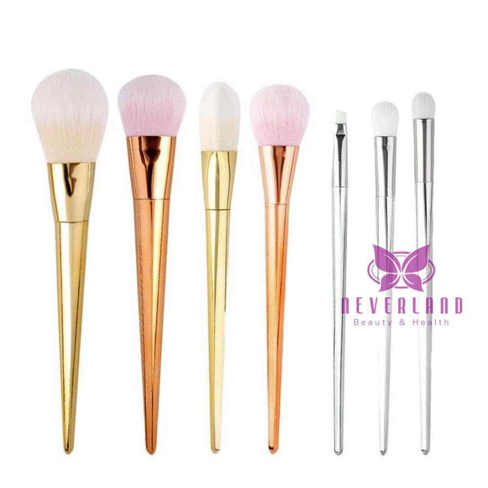 7tlg profi make up lidschatten kosmetik pinsel makeup brush schminkpinsel set ebay. Black Bedroom Furniture Sets. Home Design Ideas