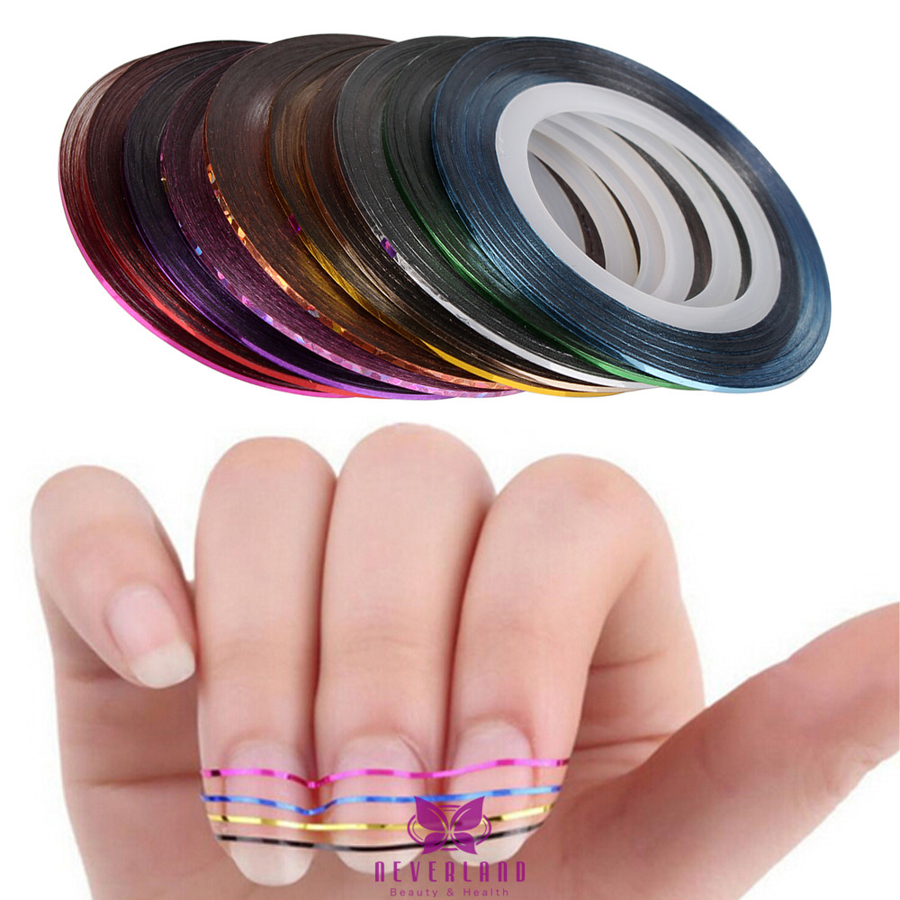 Nagel Art Design Set, Buffer, Clipper, Nailart Feile Sticker, Pinsel ...