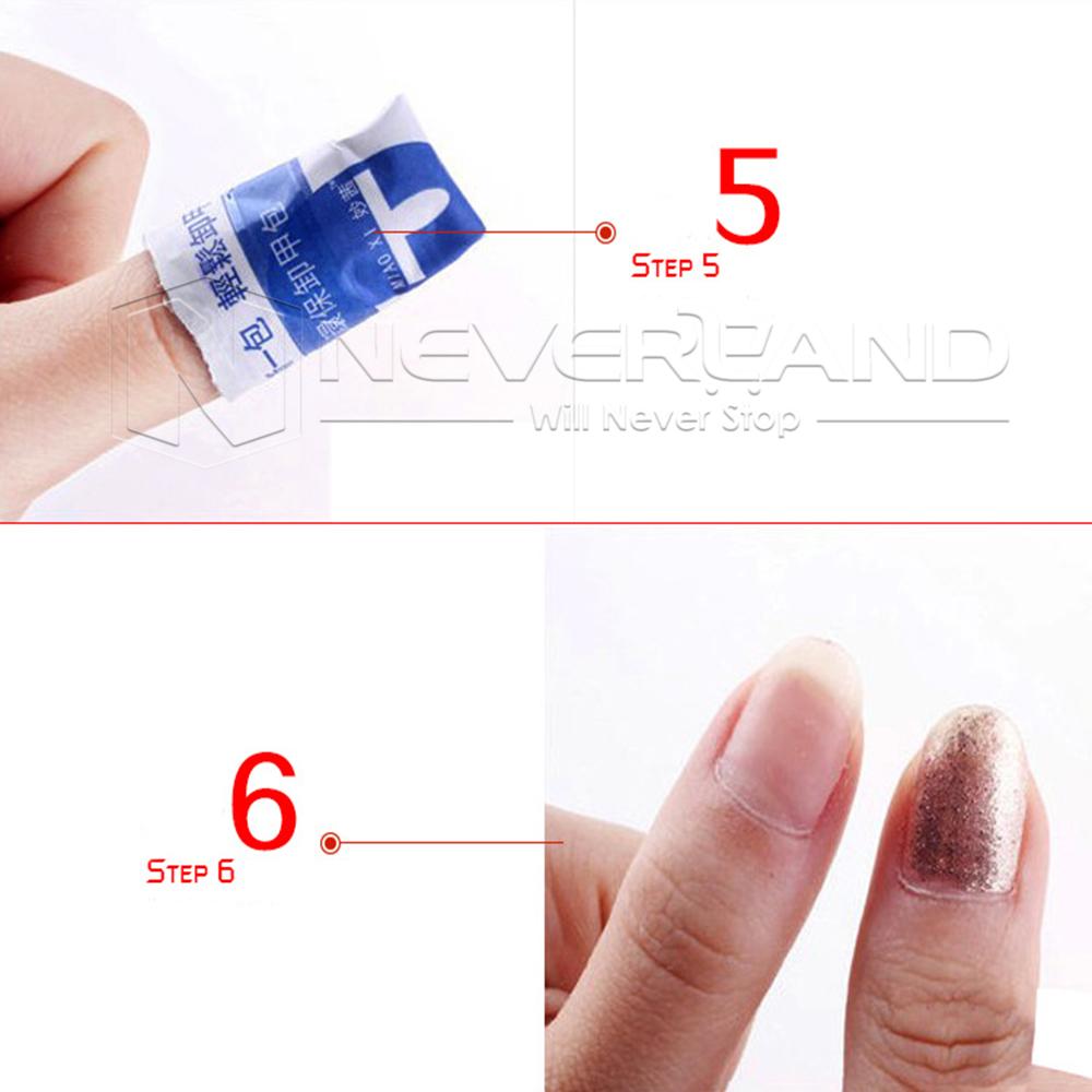 How To Use Gel Nail Polish Remover Wraps Prodotti Per Estetico