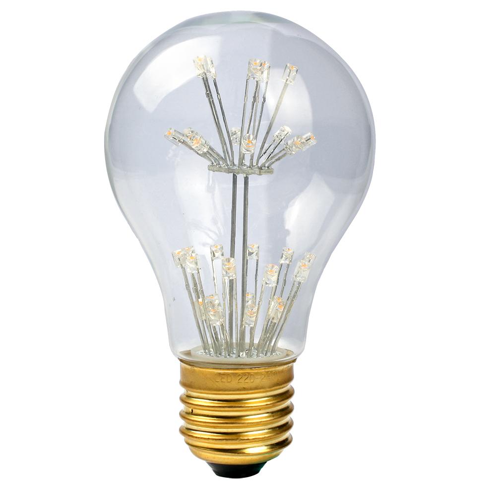 3W E27 LED Star Edison Lampade Lampadina Vintage Filament
