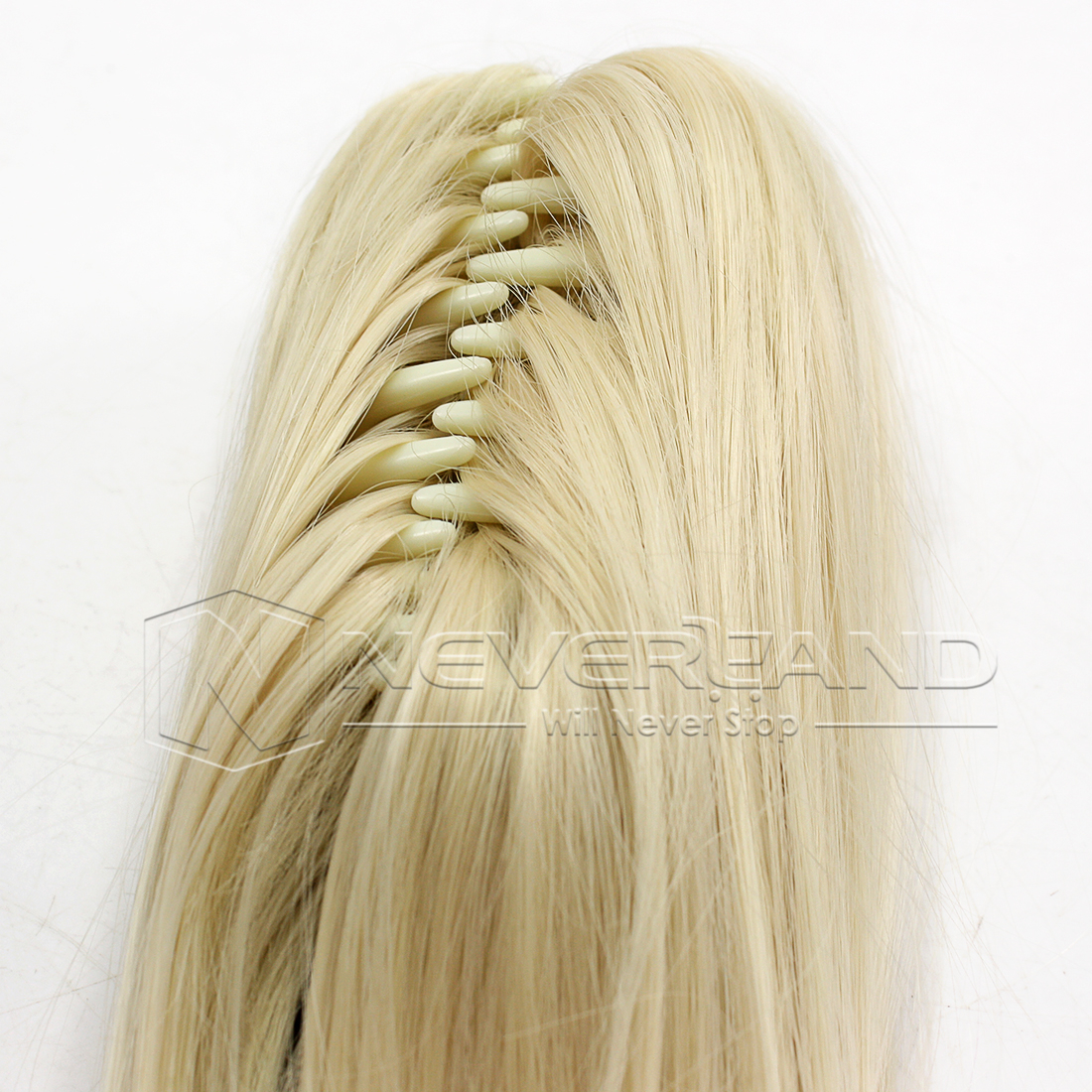 24 Inch Clip In Ponytail Pony Tail Hair Extensions Claw On ...