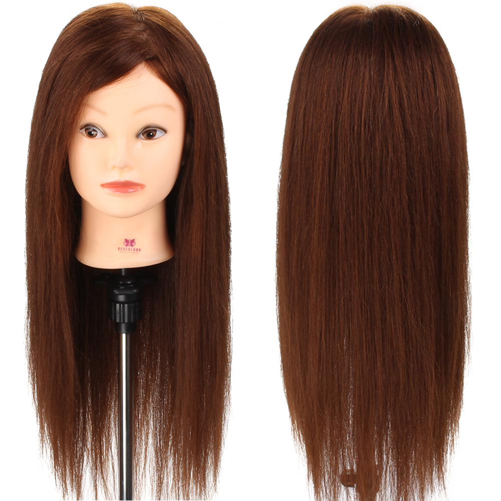 styling real hair 26 quot 100 real human hair hairdressing styling 4978