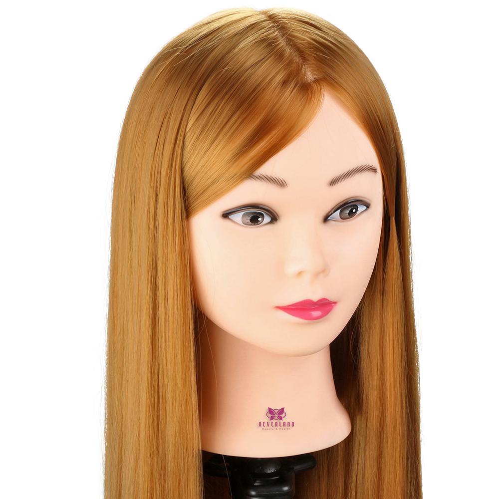 T te de mannequin maquillage 30 39 39 cheveux en fibre pour le for Salon de coiffure sexy