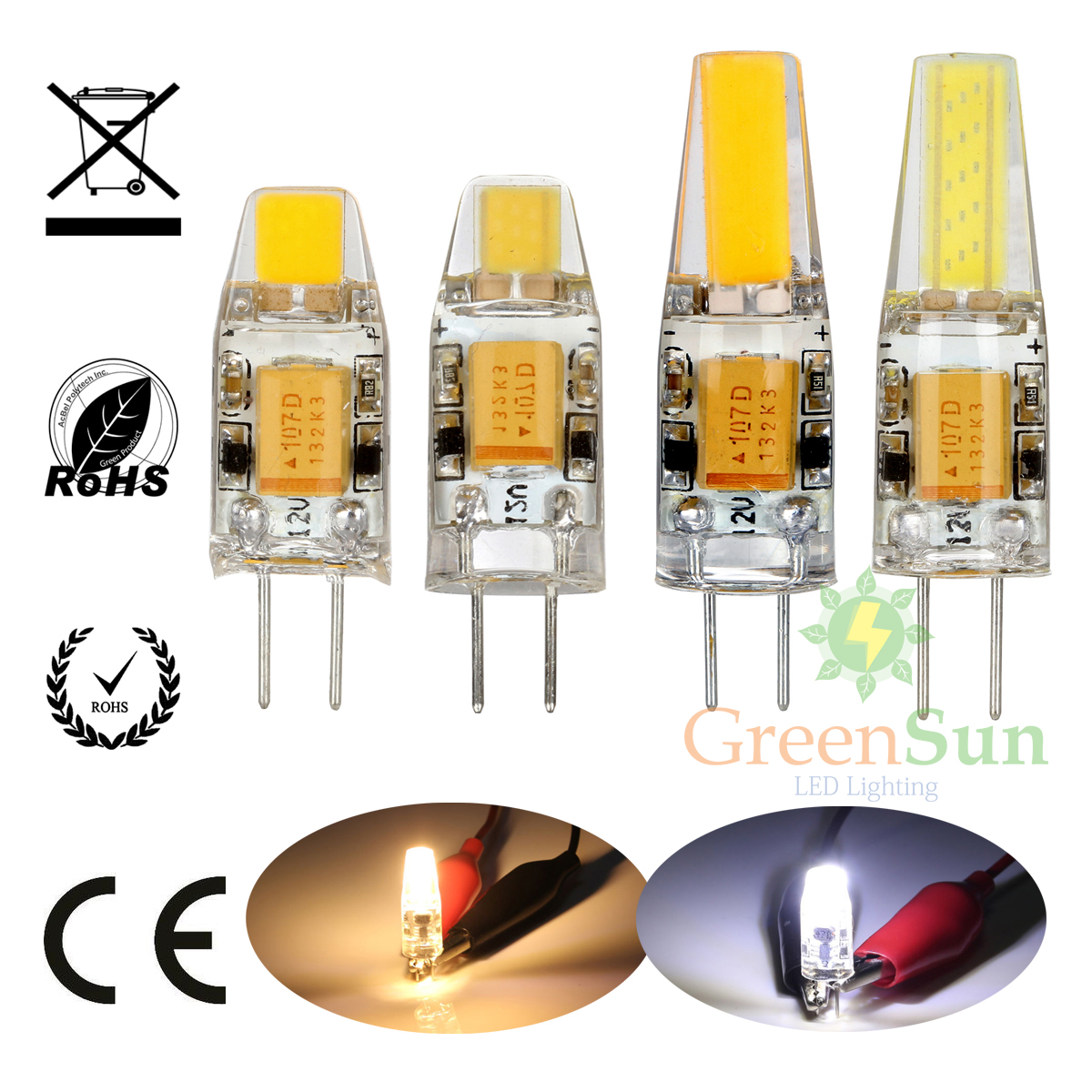 g4 g9 led cob lampe licht stiftsockel birne leuchtmittel dimmbar 12v ebay. Black Bedroom Furniture Sets. Home Design Ideas
