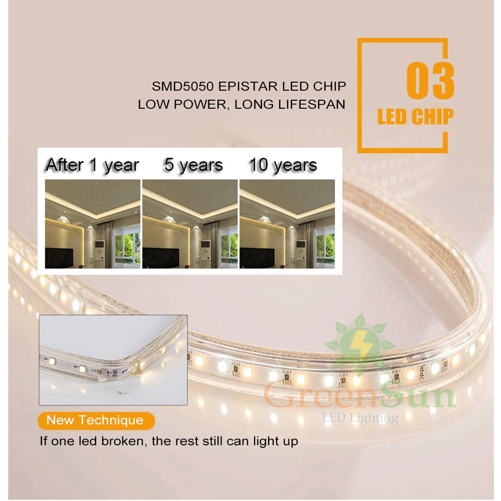 led strip 5050smd licht leiste streifen 60 led m au en. Black Bedroom Furniture Sets. Home Design Ideas