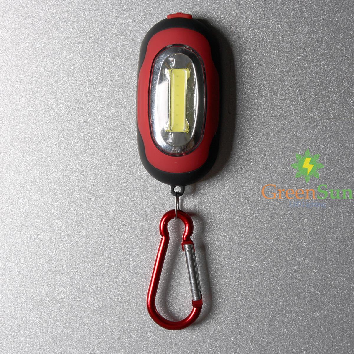 mini led magnet taschenlampe schl sselanh nger handlampe camping lampe karabiner ebay. Black Bedroom Furniture Sets. Home Design Ideas